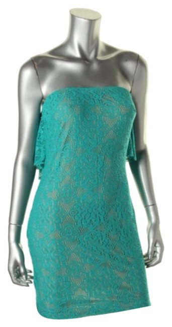 Preload https://item5.tradesy.com/images/turquoise-style-number-10042000-above-knee-cocktail-dress-size-4-s-6547879-0-0.jpg?width=400&height=650