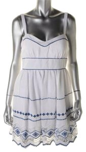 B. Darlin short dress White/Royal on Tradesy