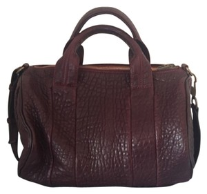 Alexander Wang Satchel in Ox blood/Brown