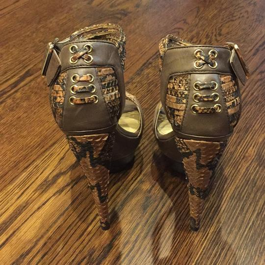 Rachel Zoe Brown Platforms