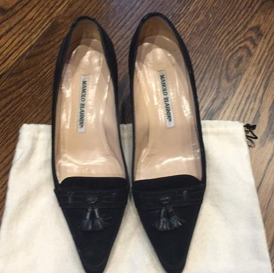 Manolo Blahnik Blac Pumps