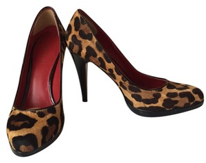 Nine West Leopard print Platforms