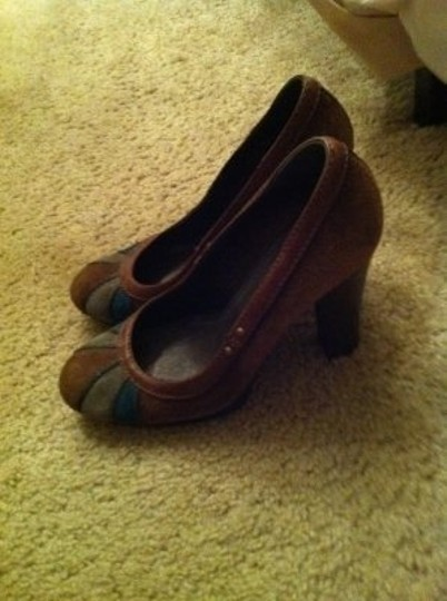 Miss Sixty Brown suede Pumps