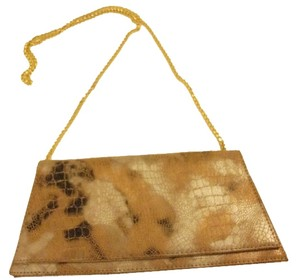 J. Renee Chain tan/black/gray multi Clutch