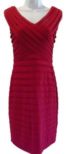 Adrianna Papell Sheath Sleeveless Vera Wang Dress