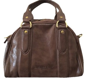 Liebeskind Leather Crossbody Satchel in Brown