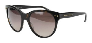 David Yurman David Yurman Women's Floating Logo Full Rim Wayfarer Sunglasses In Dark Tortoise