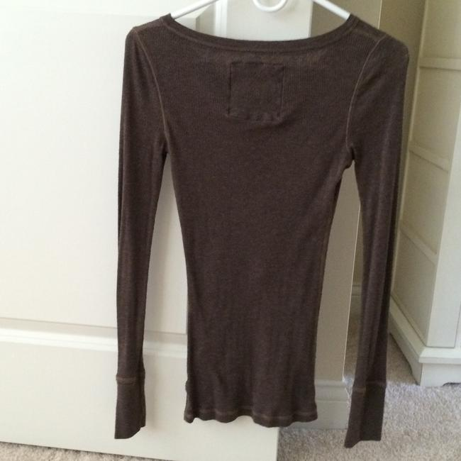 Abercrombie & Fitch T Shirt Brown
