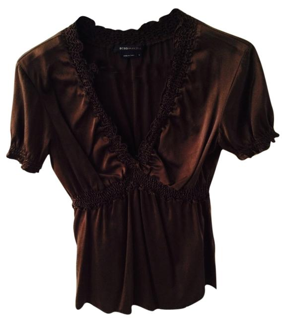 Preload https://item3.tradesy.com/images/bcbgmaxazria-brown-blouse-size-4-s-6561487-0-1.jpg?width=400&height=650