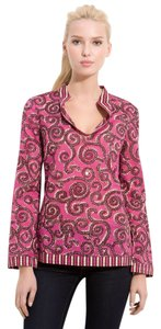 Tory Burch Top FUSCHIA STEPHANIE TUNIC