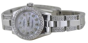 Rolex Ladies Oyster Perpetual Diamond Watch