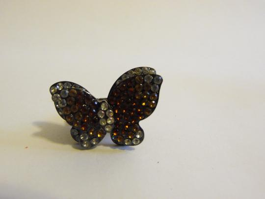 Other Butterfly Crystal Stretch Ring Size 9