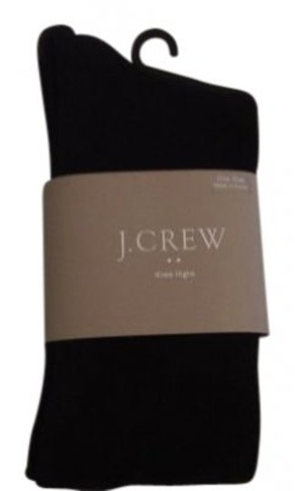J.Crew J.Crew Black Knee Highs