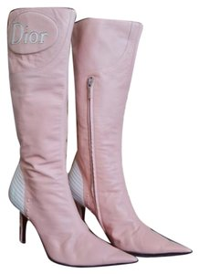 Dior Christian Retro Pink Boots