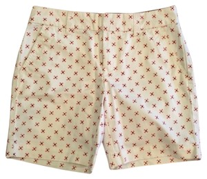 Tommy Hilfiger Mini/Short Shorts Cream coral navy