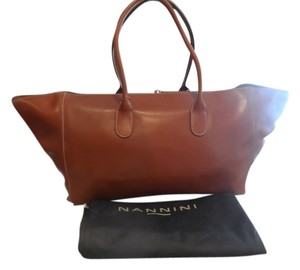 Nannini Tote in Light caramel