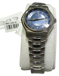 Ebel EBEL 1911 Blue Dial Stainless Steel Ladies Watch.