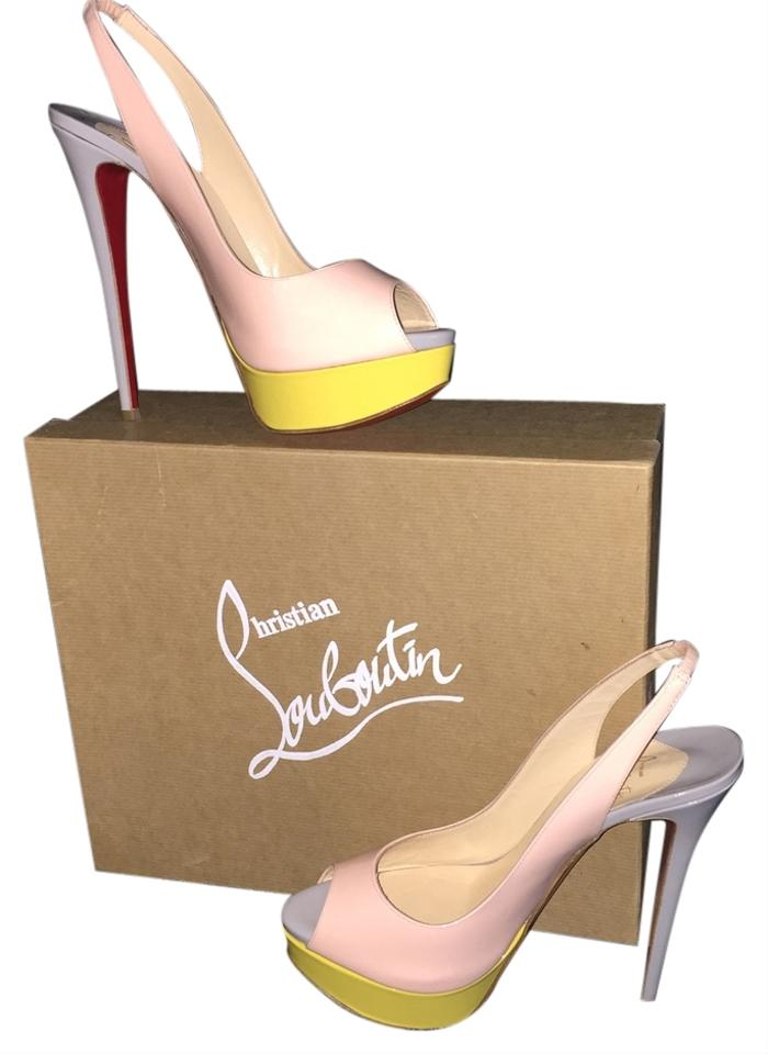 christian louboutin lady peep sling 150 pumps