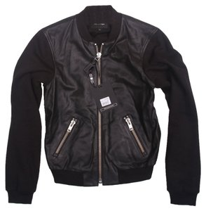Mackage Designer Leather Lambskin Leather Jacket