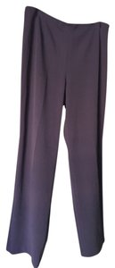 Dialogue Straight Pants eggplant