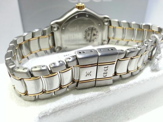 Ebel Ebel 1087221 Stainless Steel & 18 Karat Yellow Gold Watch With Diamonds