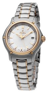 Ebel Ebel 1087221 Stainless steel & 18 karat yellow gold Watch. With Mother of Pearl Dial