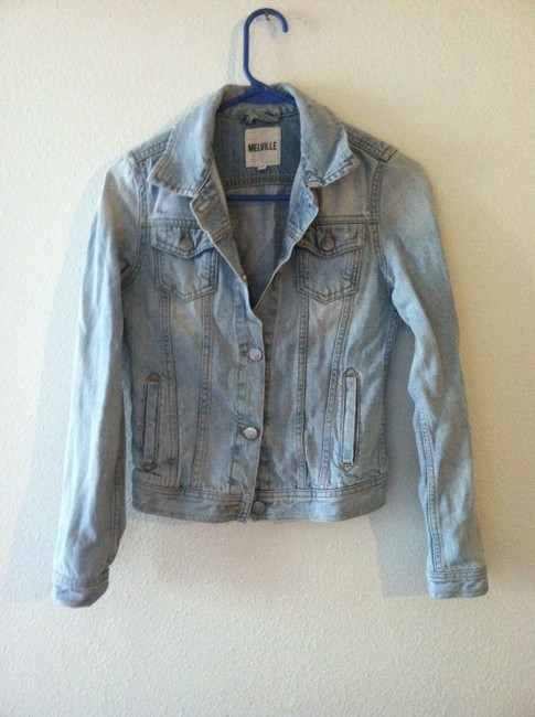 Brandy Melville Light Denim Womens Jean Jacket