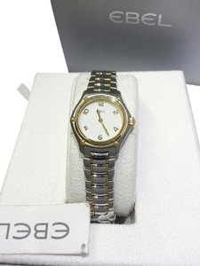 Ebel Ebel 1911, Women's Watch, Stainless Steel & 18K Yellow Gold