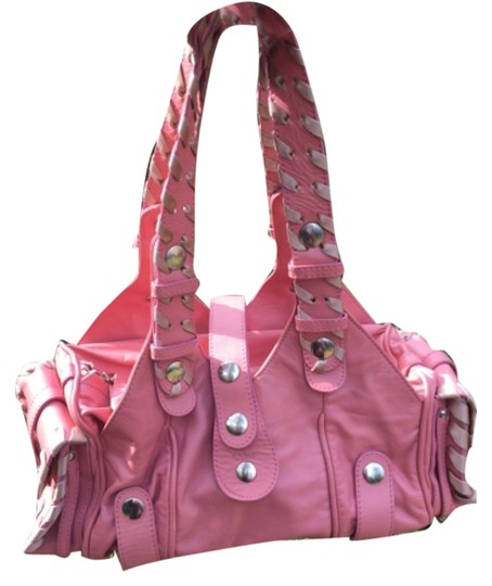 Preload https://item3.tradesy.com/images/chloe-silverado-pink-leather-tote-6564607-0-0.jpg?width=440&height=440