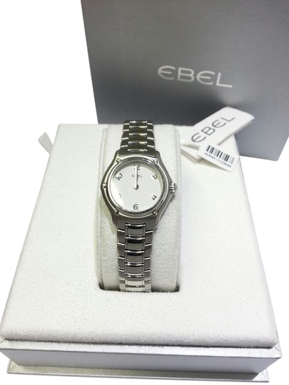 Preload https://item2.tradesy.com/images/ebel-stainless-steel-1911-classic-women-s-white-dial-watch-6564766-0-0.jpg?width=440&height=440