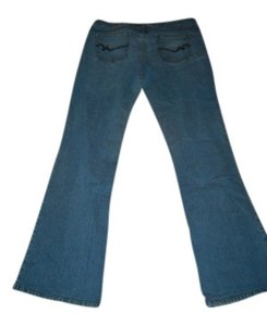So Wear It Declare It Flare Leg Jeans-Medium Wash