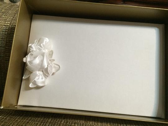Beverly Clark White Guest Book A'mour Collection 41 A By G Reception Decoration