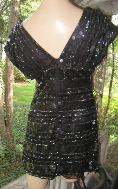 Mac Duggal Couture Beaded Sequin Dress