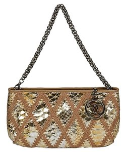 Chanel Snakeskin Python Vintage Shoulder Bag