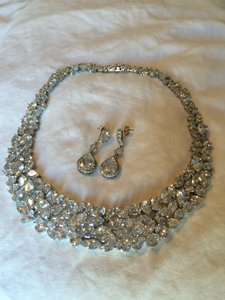 Bridal Necklace And Earings