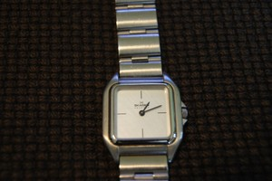 Skagen Denmark Square Silver Watch