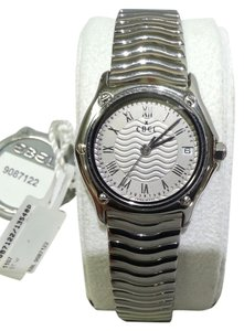 Ebel Ebel9087122 Lady's Classic Wave - Steel on Bracelet with Silver Dial