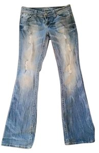 Zoco Vanity Boot Cut Jeans-Medium Wash