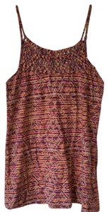 Maurices Woven Top Tribal Pattern--Orange