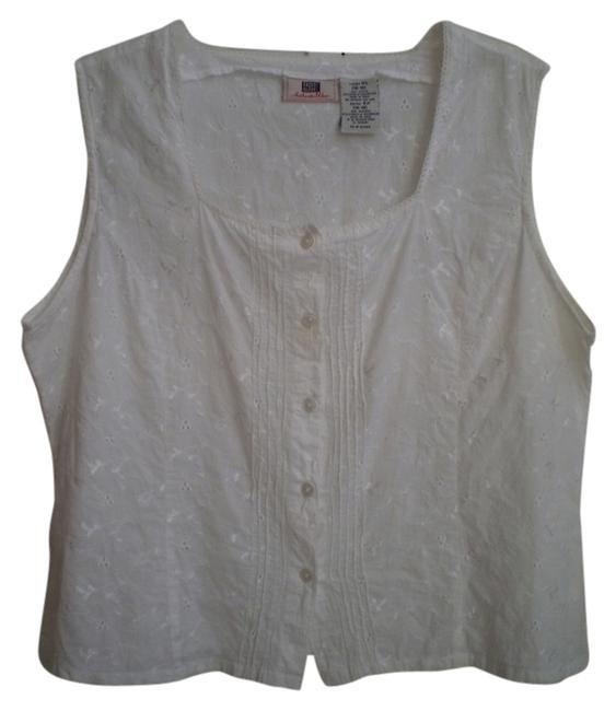 Faded Glory Top White