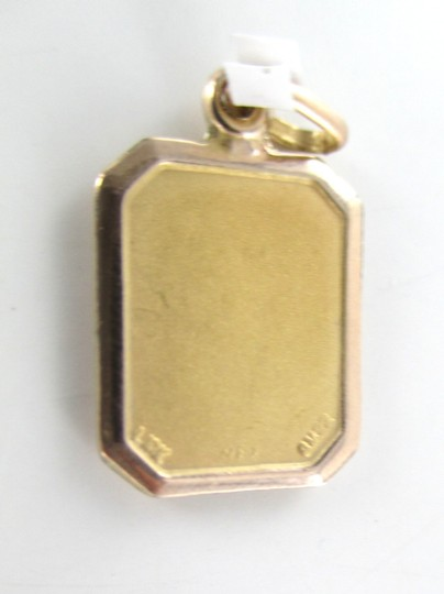 Other 10KT SOLID YELLOW GOLD PENDANT VIRGIN MARY 1.0 GRAMS RELIGIOUS CHARM PROTECTION