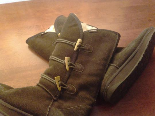 EMU Leather Wool Brown Boots
