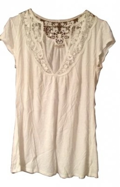 Preload https://item3.tradesy.com/images/forever-21-white-tee-shirt-size-12-l-6567-0-0.jpg?width=400&height=650