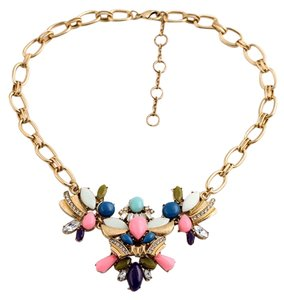Multicolor Stone Statement Necklace