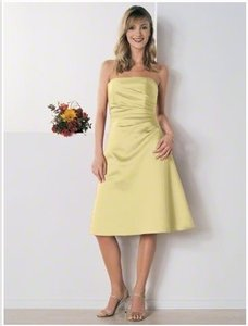 Yellow Alfred Angelo 6129sn Dress