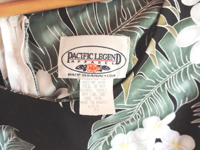 Pacific Legend Apparel short dress Black White Green on Tradesy