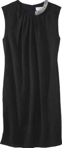 3.1 Phillip Lim for Target short dress Black New Sheath Sheath Jewel Detail Simple Elegant Sleeveless on Tradesy