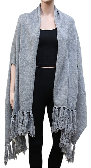 Other Wrap Fringed Wrap Shawl Shawl Cape