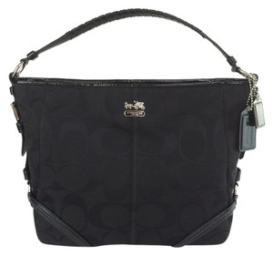 Coach Signature 18903 Jacquard Chelsea Katrina Shoulder Bag