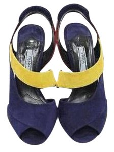 Prada Colorblock Coneheel Color-blocking Fashion Forward Gifts For Her Sandals
